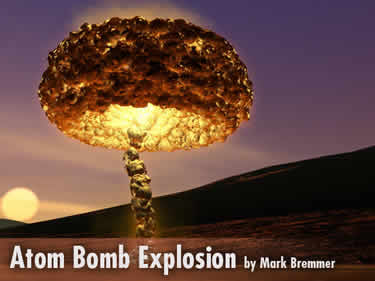 Learn how to make a mushroom cloud from an atomic bomb in Carrara 7 pro.